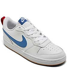 Big Boys Court Borough Low 2 Casual Sneakers from Finish Line