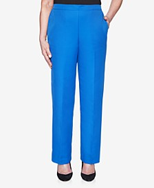 Pull On Back Elastic Microfiber Twill Proportioned Pant
