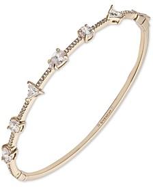 Mixed-Crystal Bangle Bracelet