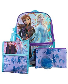 Frozen Backpack, 5 Piece Set