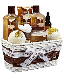 9 Piece Vanilla Coconut Home Spa Body Care Gift Set