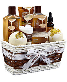 Lovery 9 Piece Vanilla Coconut Home Spa Body Care Gift Set