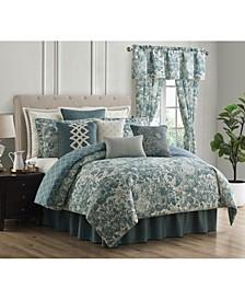 Clarissa 4 Piece Comforter Set, Queen