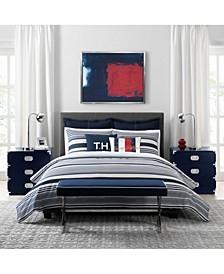 Island Stripe Full/Queen Comforter Set
