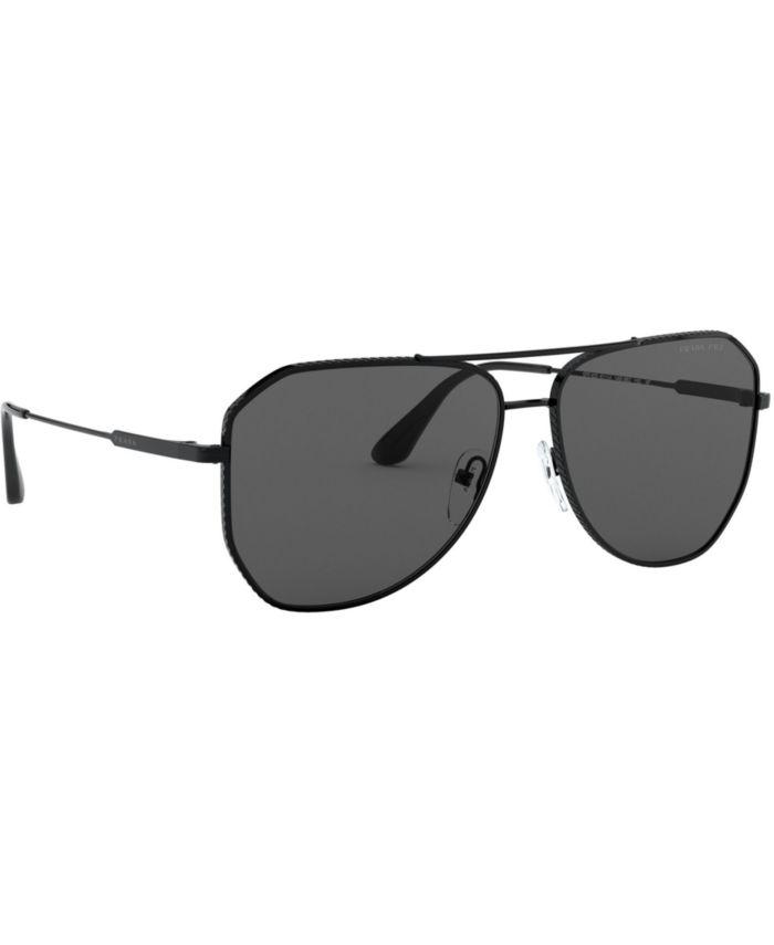 Prada Polarized Sunglasses, 0PR 63XS & Reviews - Sunglasses by Sunglass Hut - Men - Macy's