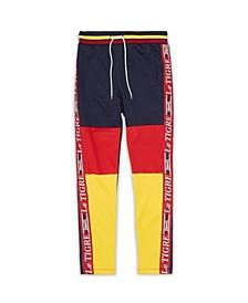 Men's New Tri Color Track Pants