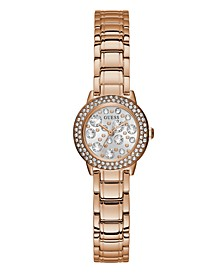 Rose Gold-Tone Petite Crystal Watch 25mm