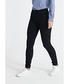 Women's Mid Rise Skinny Jeans