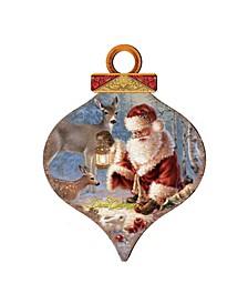 by Dona Gelsinger Abundance of Joy Ornament and Drop Ornament, Set of 2 Each