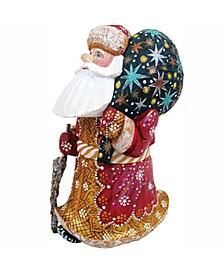 Woodcarved Hand Painted Figurine