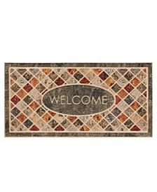 "Ornamental 2"" L X 4"" W Entry Doormat"