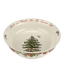 CLOSEOUT! Christmas Tree Annual Serving Bowl