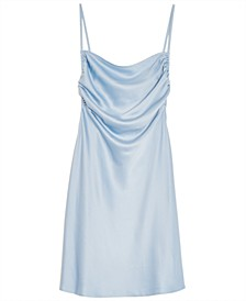 Solid Mini Slip Dress, Created for Macy's