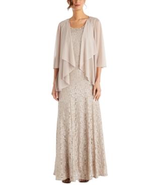 1920s Formal Dresses & Evening Gowns Guide R  M Richards Beaded Dress  Flyaway Jacket $139.00 AT vintagedancer.com