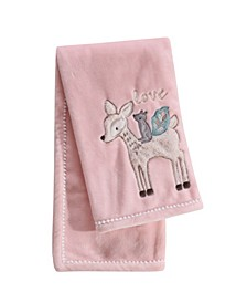 Baby Everly Deer Character Throw