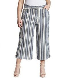 Women's Plus Barry Wide Leg Jean