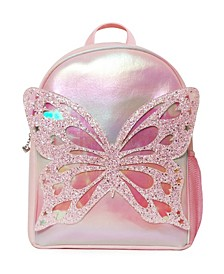 Girls Miss Butterfly Full Size Backpack