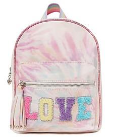 Girls Love for Tie Dye Mini Backpack