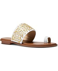Sonya Studded Flat Sandals