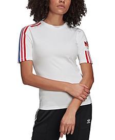 Women's adicolor 3D Trefoil T-Shirt