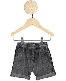 Baby Boys and Girls Domenic Denim Wash Short