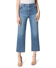 The Blake High Rise Wide Leg Crop Jeans