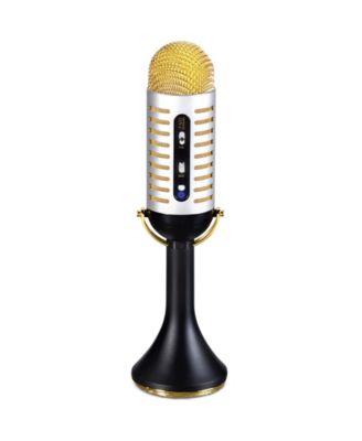 Fao Schwarz Musical Microphone Vintage-like Bluetooth Speaker
