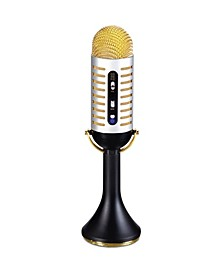 Musical Microphone Vintage-like Bluetooth Speaker