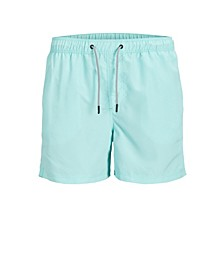 Men's Solid Recycled Swim Shorts