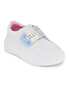 Toddler Girls Low Slip On with Ajustable Strap Sneakers