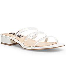 STEVEN NEW YORK Women's Hades Block-Heel Slide Sandals