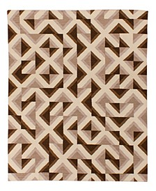 Harmon GG114 Brown 9' x 12' Area Rug