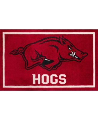 "Arkansas Colar Red 1'8"" x 2'6"" Area Rug"
