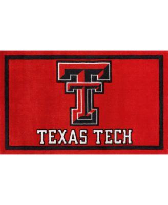 "Texas Tech Coltt Red 3'2"" x 5'1"" Area Rug"