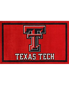 "Texas Tech Coltt Red 3'2"" x 5'1"" Area Rug"