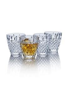 Harding Double Old Fashioned Glasses, Set of 4