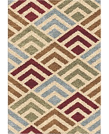 "Reacation Shag Amazement Multi 7'10"" x 10'10"" Area Rug"