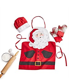 Kids 4-Pc. Santa Apron Set, Created for Macy's