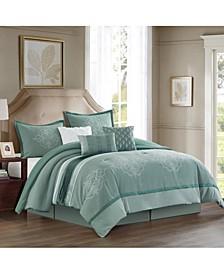 Como 7 Piece Comforter Set