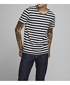 Men's Striped Cotton T-shirt