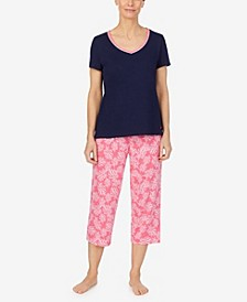 Women's Capri Pajama Set