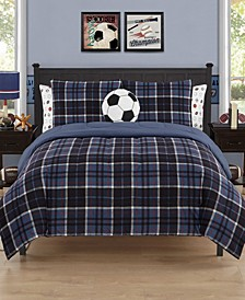 Grant Twin 5 Piece Comforter Set