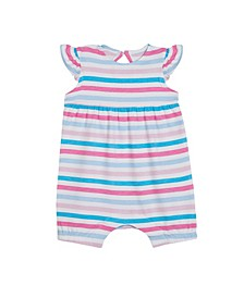 Earth by Baby Girls Mae Stripes Cotton Bubble