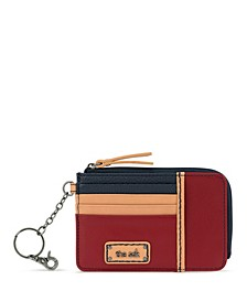 Leather Iris Card Wallet