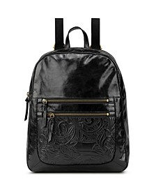 Reseda Leather Dome Backpack