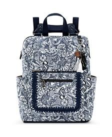 Loyola Convertible Printed Backpack