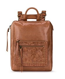 Loyola Leather Backpack