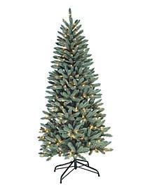 "6.5"" Blue Spruce Slim Tree"