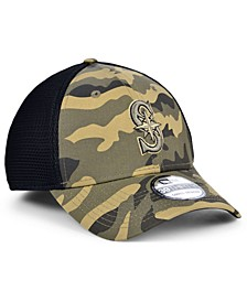 Seattle Mariners Camo Neo 39THIRTY Cap