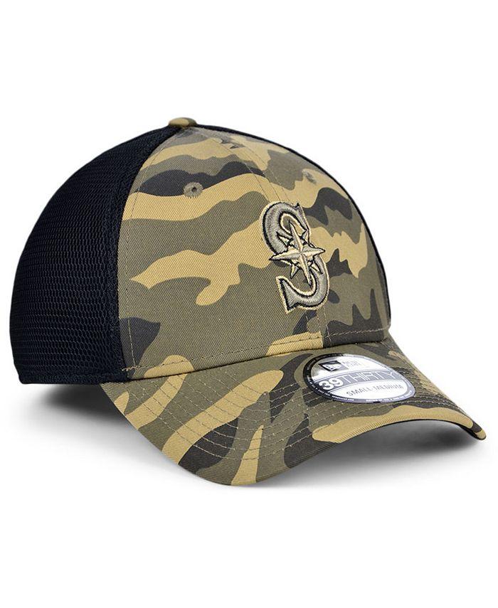 New Era - Seattle Mariners Camo Neo 39THIRTY Cap